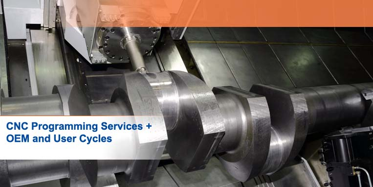 Contract CNC Programming Services, OEM + User Cycles